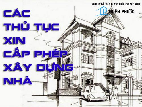 Thủ tục xin giấy phép xây dựng uy tín - nhanh nhất quận Bình Thạnh